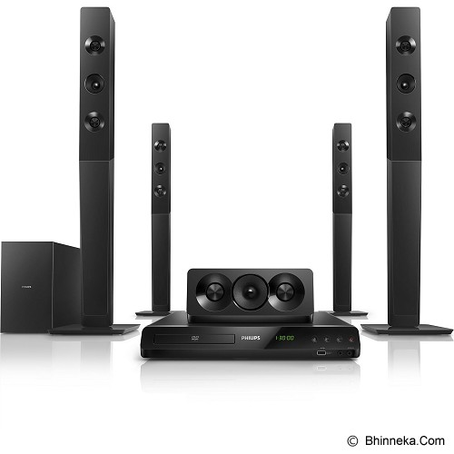 PHILIPS Home Theater 5.1 inch [HTD5580] - Home Theater System